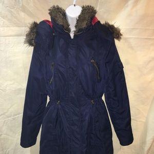 Cotton On Womens Sz L Lined Coat